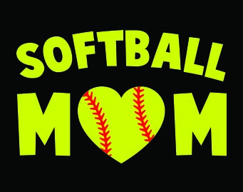 Lilly Pulitzer Wallpaper Fall Softball Mom Car Decal