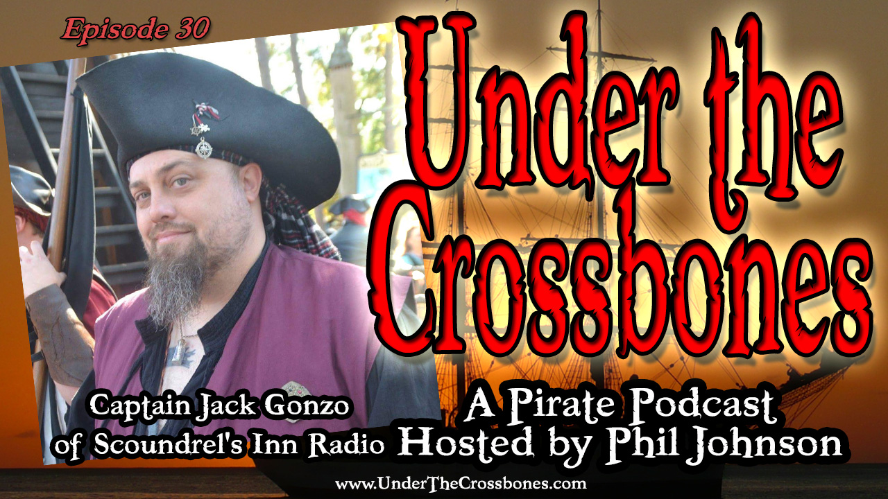 Jack Gonzo of Scoundrel's Inn Pirate Music
