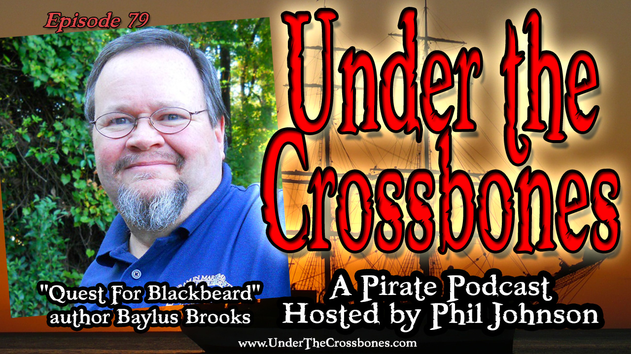 'Quest For Blackbeard' author Baylus Brooks