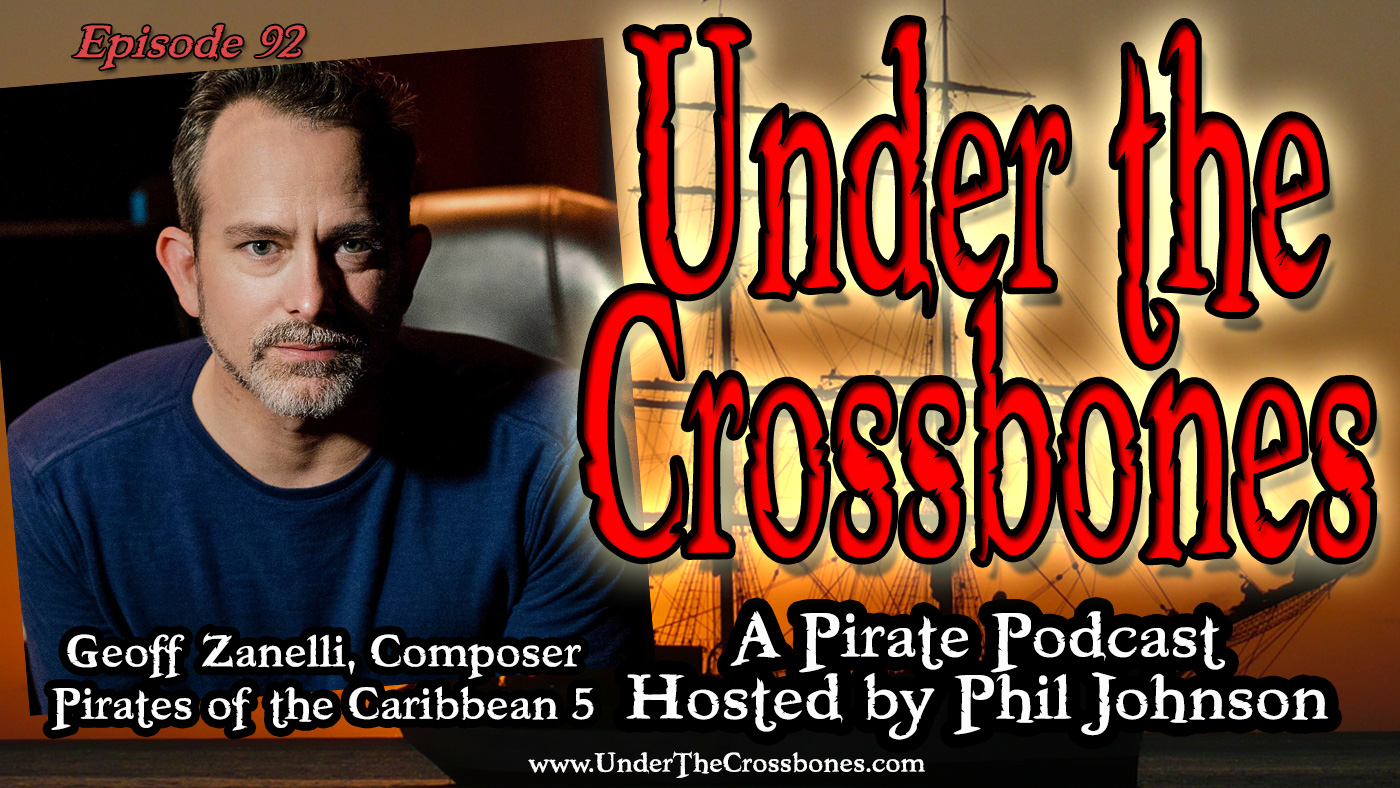 Geoff Zanelli, Composer of Pirates of the Caribbean 5