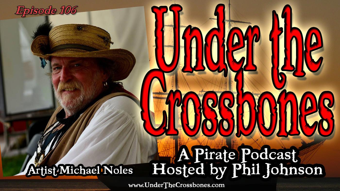 Pirate Artist Michael Noles