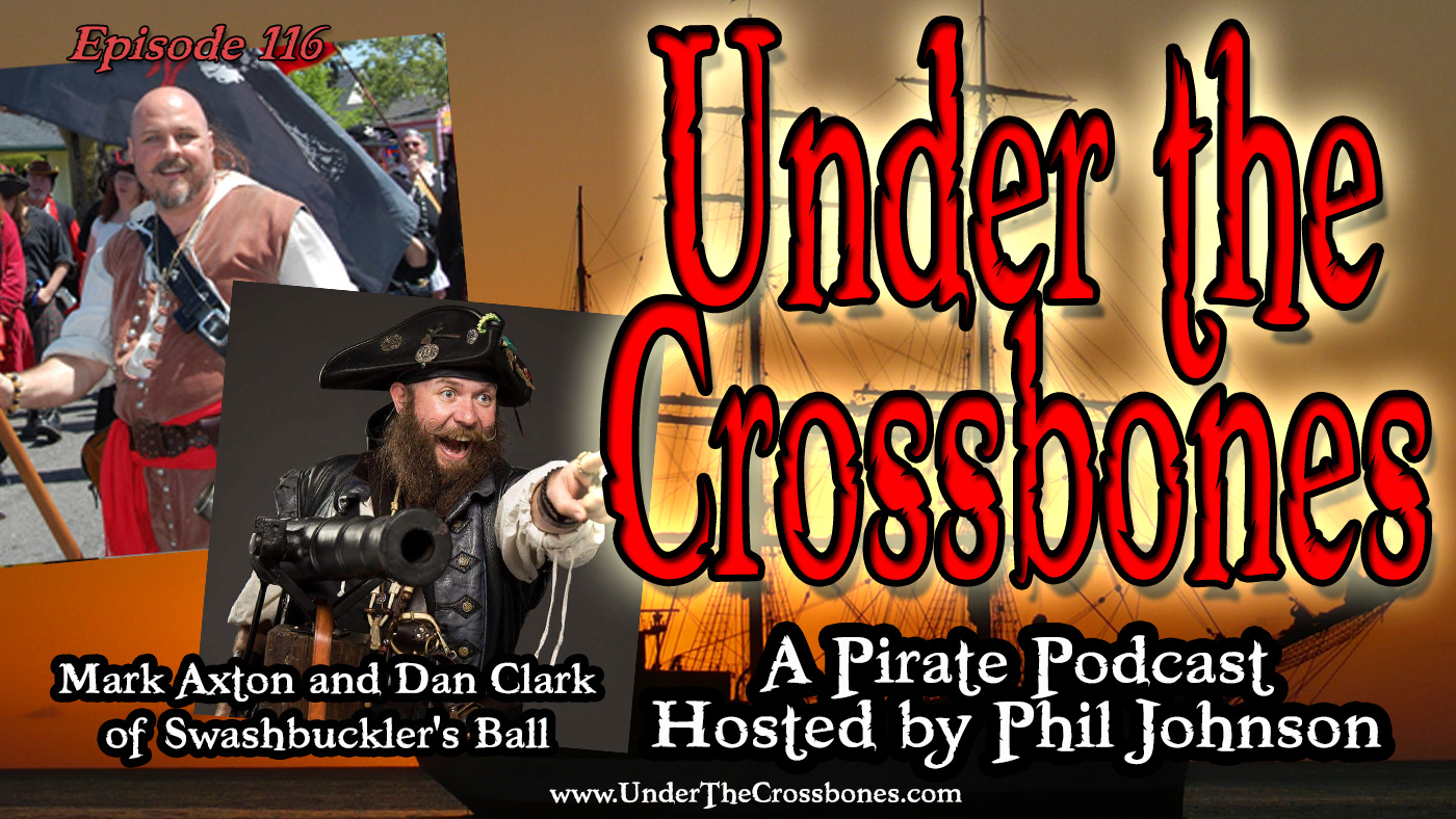 Mark Axton and Dan Clark of Swashbuckler's Ball