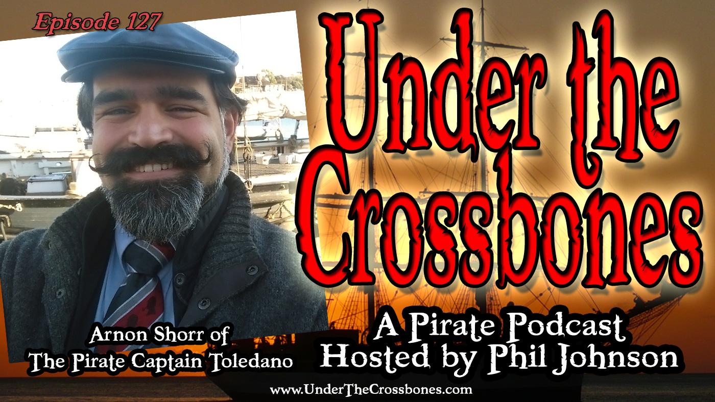 Arnon Shorr of The Pirate Captain Toledano