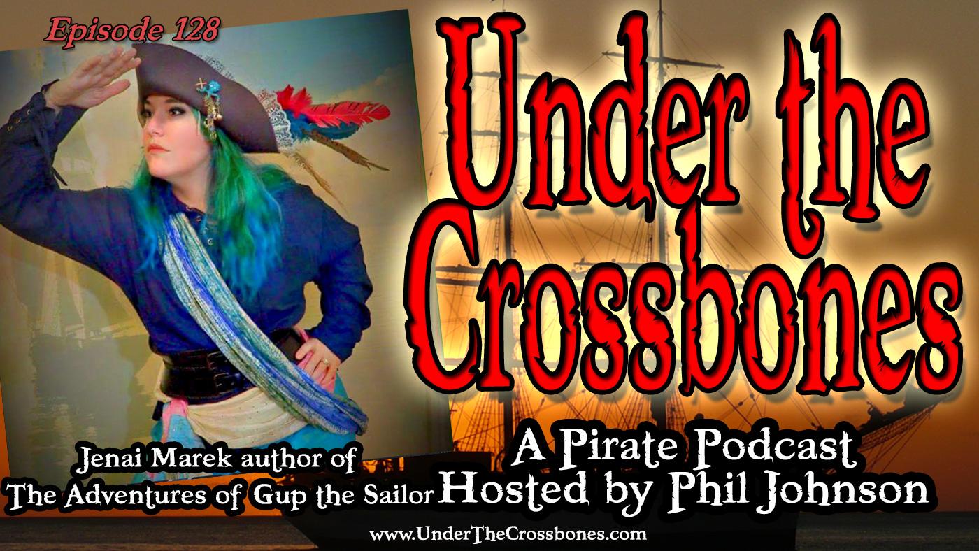 Jenai Marek, author of The Adventures of Gup the Sailor