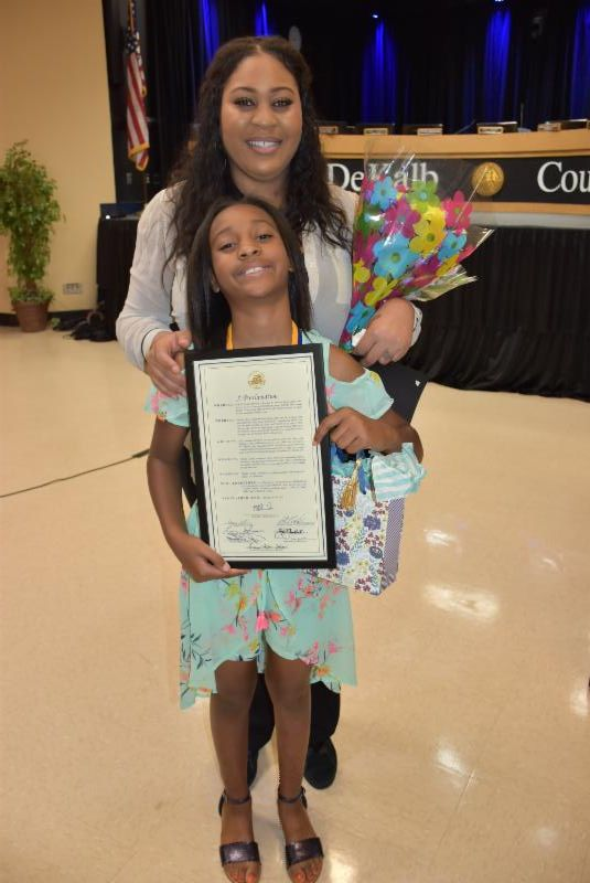 This Georgia 10-year-old saved her little sister's life