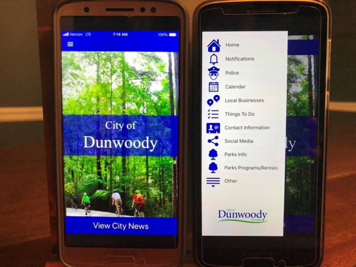 Dunwoody's new app helped during boil water advisory