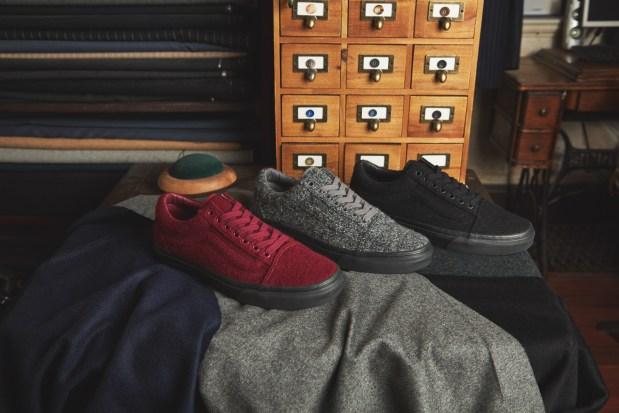 02ca38fd34 size exclusive Vans Wool Pack Old Skool-1