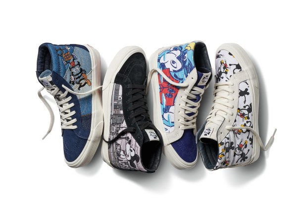 "6169894f7b Vault by Vans x Disney – Mickey Mouse 90th Anniversary ""True Original"" Pack  (8.25.18)"