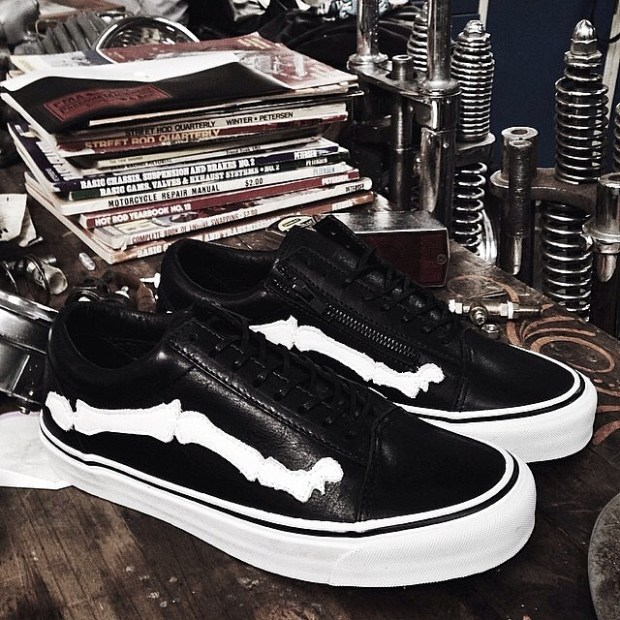 via IG! @blends x Vans Vault - Old Skool Zip LX 05.31.14 (official info up on our site in a few!) #blends #blendsvans #underthepalms