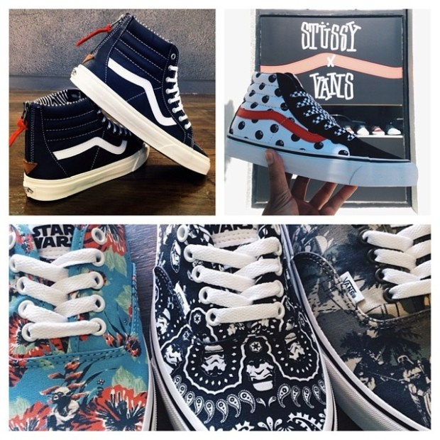 via IG! @blendssd has all your favorite new Vans releases, so stop on by if you're in or around downtown San Diego! #underthepalms #blendssd
