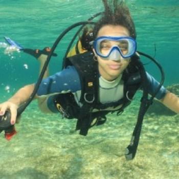 キューバでのダイビング
