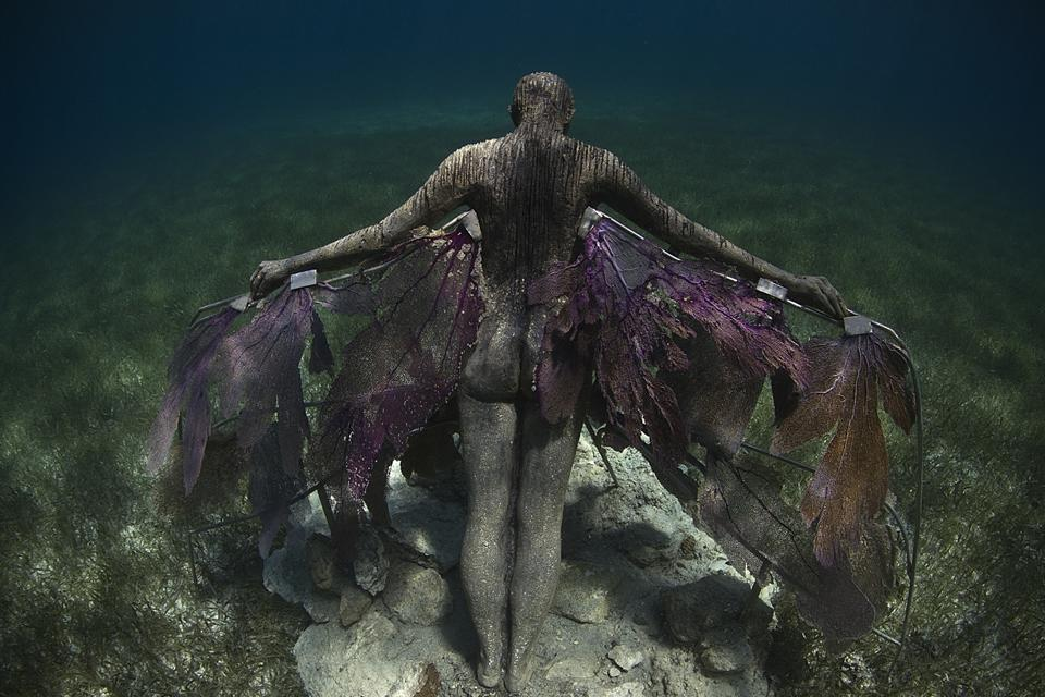 Submerged  Underwater Sculpture by Jason deCaires Taylor