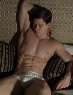 model Matt Waters photogrpahed by Marco Ovando for Garçon Model underwear 2