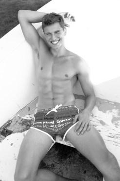 Model Stef van Geleuken shot by Martijns Mouter for Garcon Model underwear - 2