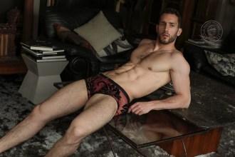 L Homme Invisible underwear - Velours Mystique lace underwear 10
