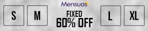 Fixed 60% Off