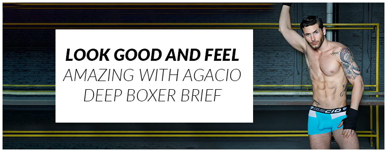 Look good and feel amazing with Agacio Deep Boxer Brief