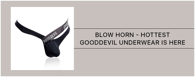 Blow Horn - Hottest Good Devil Underwear is here
