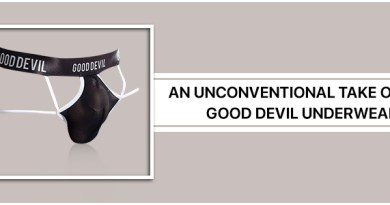 An unconventional take on the Good Devil Underwear
