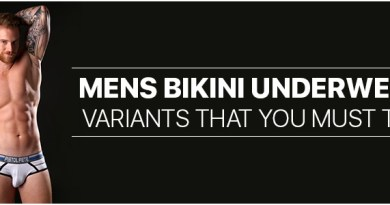 Mens Bikini Underwear variants that you must try