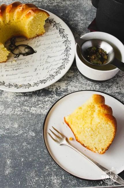 gâteau au yaourt à l'amande amère