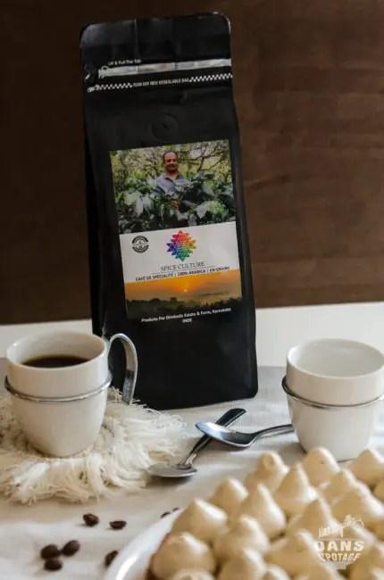 café en grains Spice Culture origine Inde