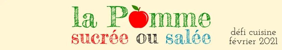 défi la pomme sucrée ou salée