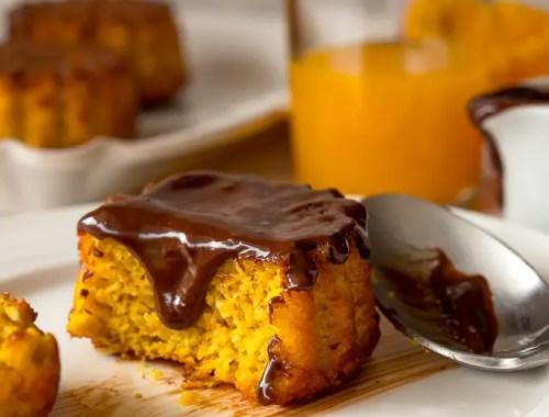 gâteau anti-gaspi aux peaux d'orange