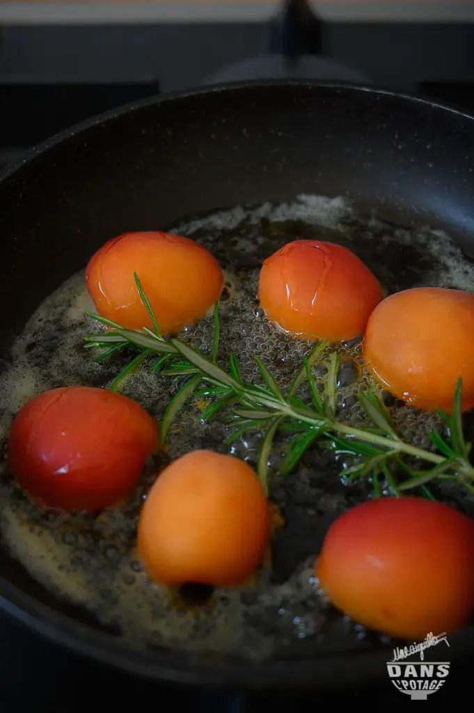 abricots poêlés