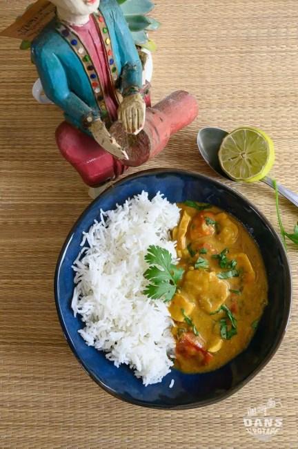 curry de poulet facile