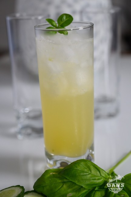 mocktail anatole ananas concombre basilic