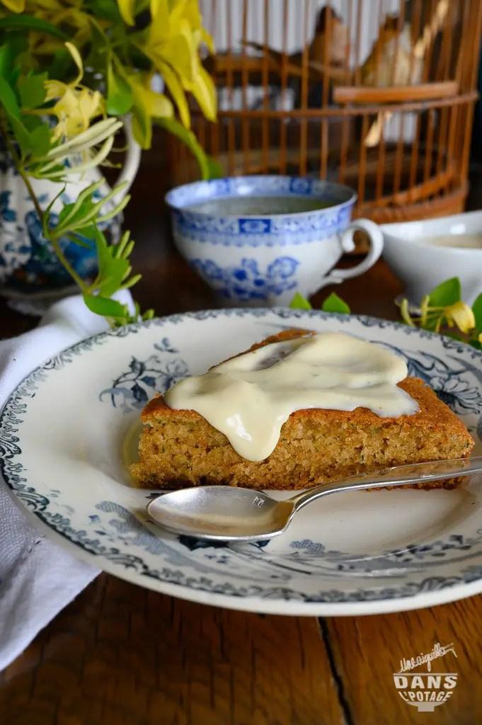gâteau courgette pomme crème citron