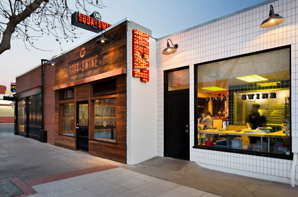 The storefront of Soda and Swine in San Diego | © Soda & Swine