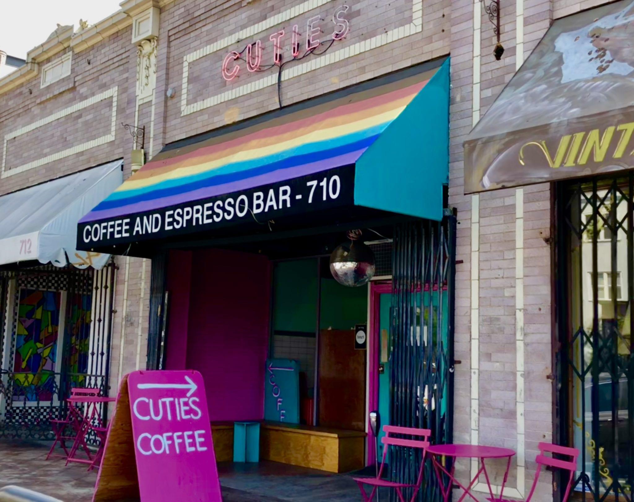 Photo provided by Cutie's Coffee, LA