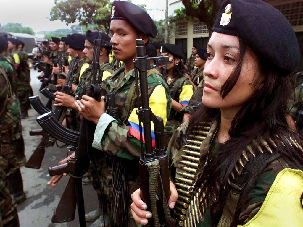 A third of FARC fighters were reportedly women © | F! Report