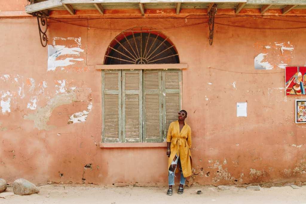 Jessica Nabongo in Goree Island | ©  Seyni Ba
