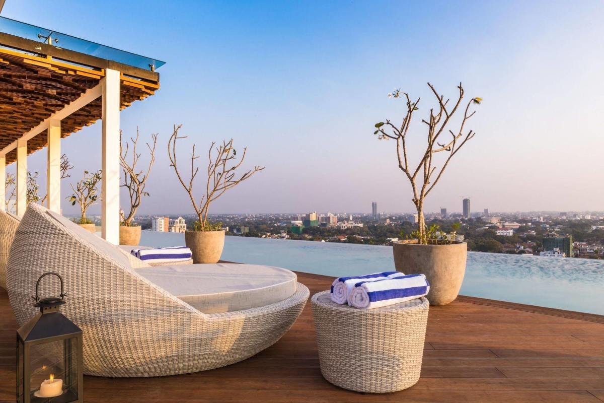 Rooftop views at Jetwing Colombo Seven | © Jetwing Hotels