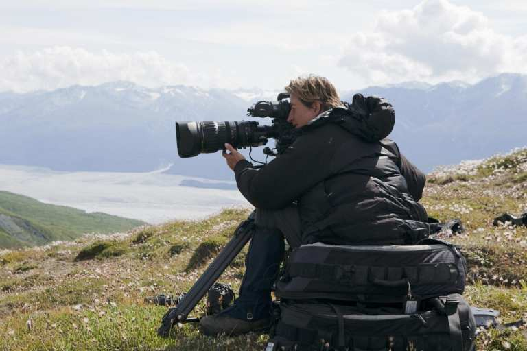 Wildlife filmmaker, Justine Evans | © Courtesy of Justine Evans