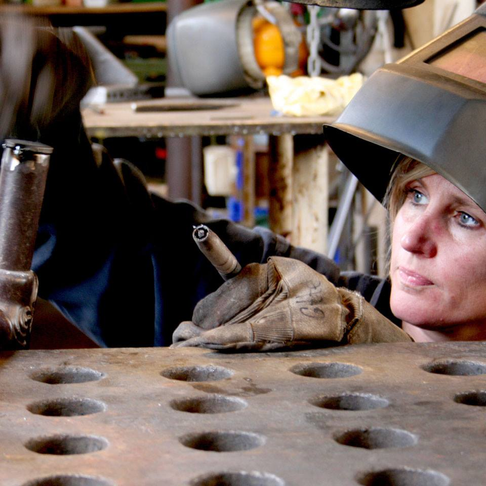 Kvindesmedien is a workshop run entirely by female blacksmiths in Copenhagen © | Courtesy of Kvindesmedien's Facebook Page