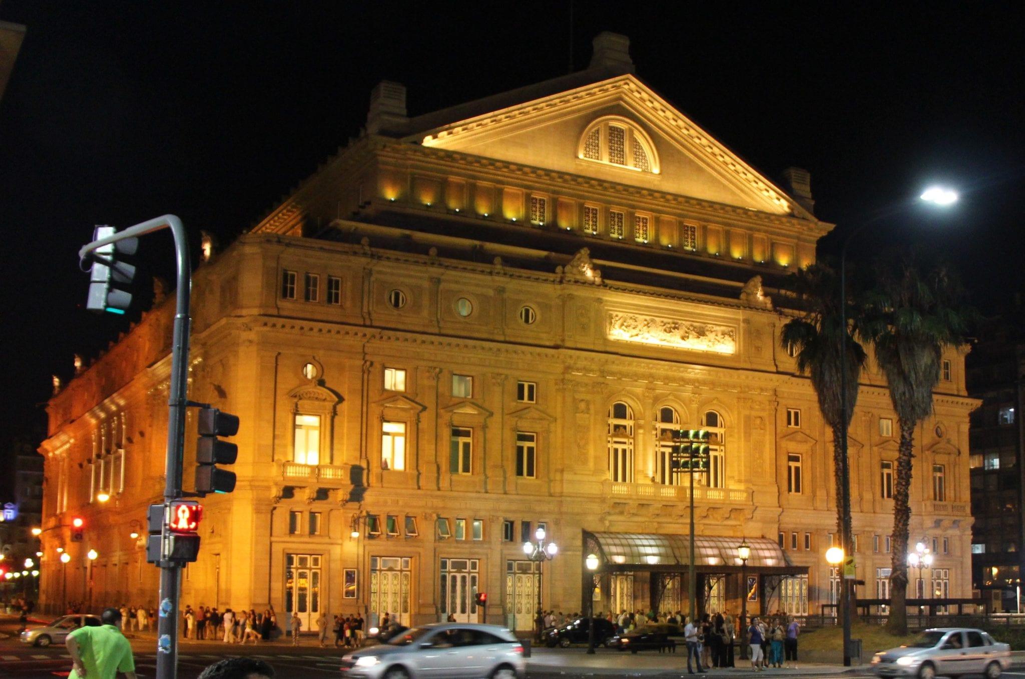 Teatro Colon in Buenos Aires © Wikimedia