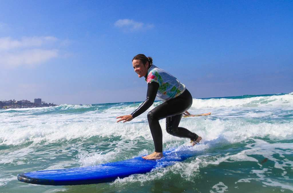 Surfing in San Diego | © Courtesy of Surf Diva