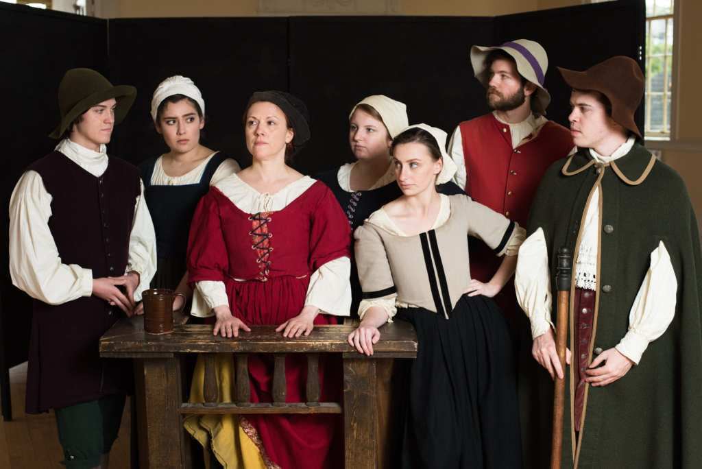 Cast of Cry Innocent | © Courtesy of History Alive