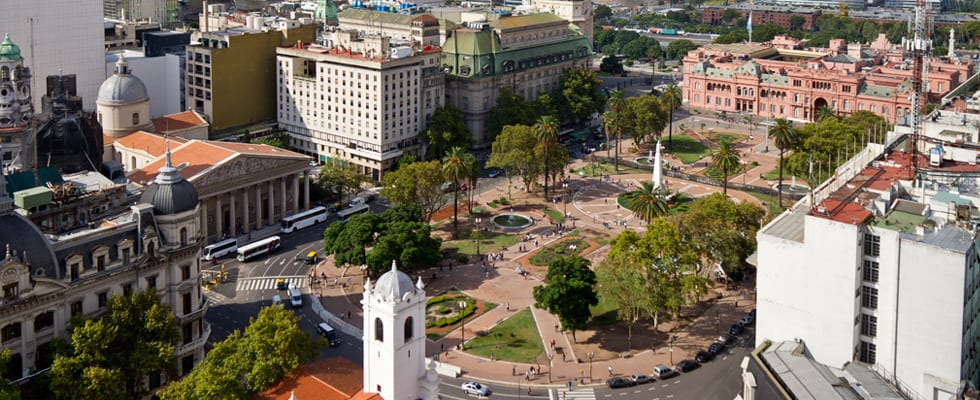 Plaza de Mayo in Buenos Aires | ©Courtesy of Buenos Aires Tourism
