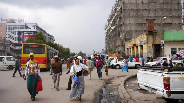 Streets of Addis Ababa, Ethiopia | © Shutterstock.com
