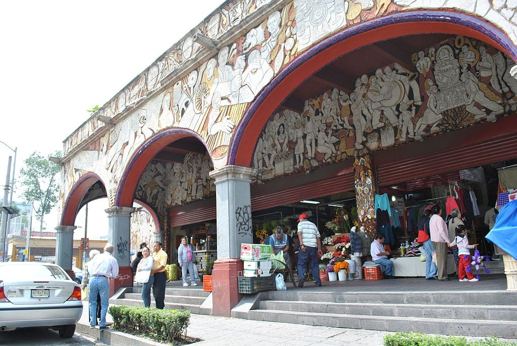 Mercado San Angel | © ProtoplasmaKid/Wikimedia