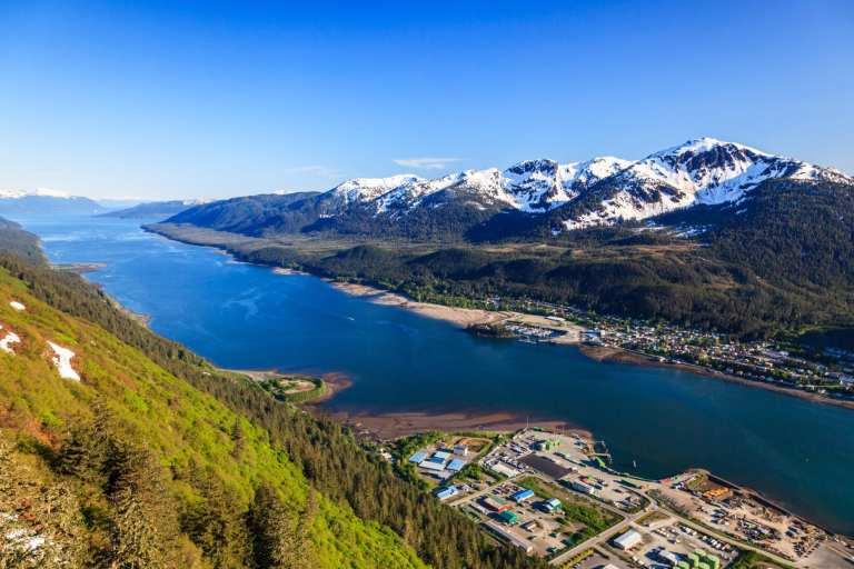 Aerial view of Juneau, Alaska   © emperorcosar/Shutterstock