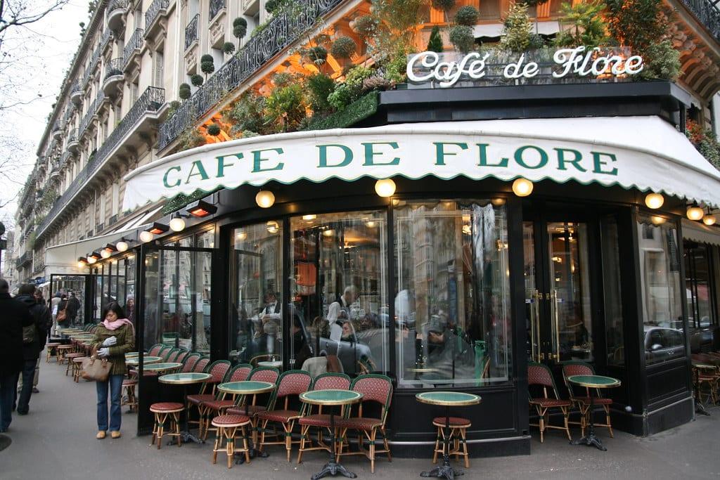 Cafe de Flor in Paris   © ayustety/Flickr