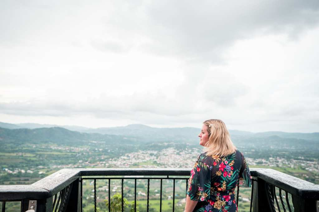 The author, Kelly Lewis, in Jarabacoa | © Nick Argires, The Dominican Republic Ministry of Tourism