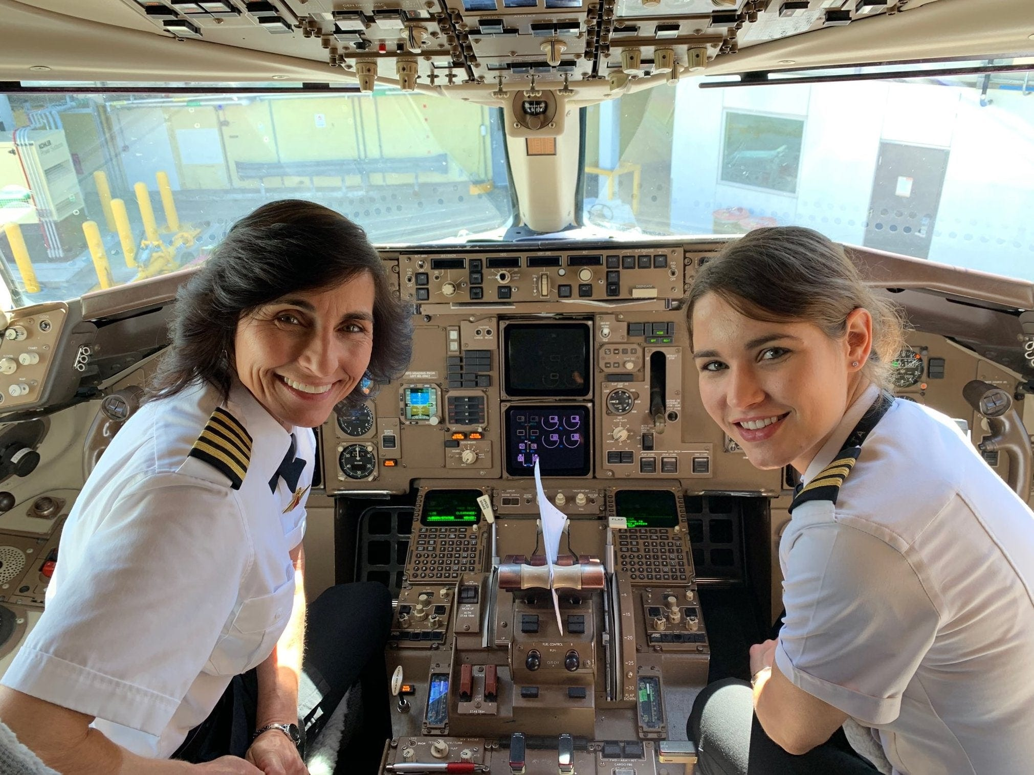 The First Mother-Daughter Pilot Duo in History