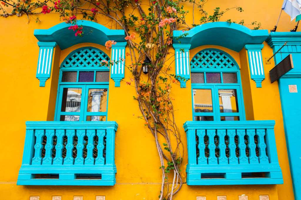 Windows in Cartagena's Old Town | © Anamaria Mejia/Shutterstock